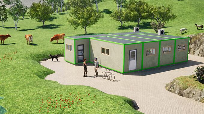 Laboratoire modulaire de transformation alimentaire